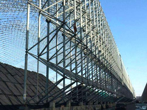 螺栓球钢网架结构加工和装置进程操控!